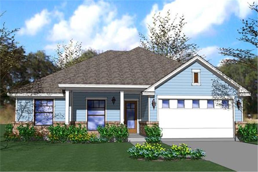 Main image for House Plan #117-1040