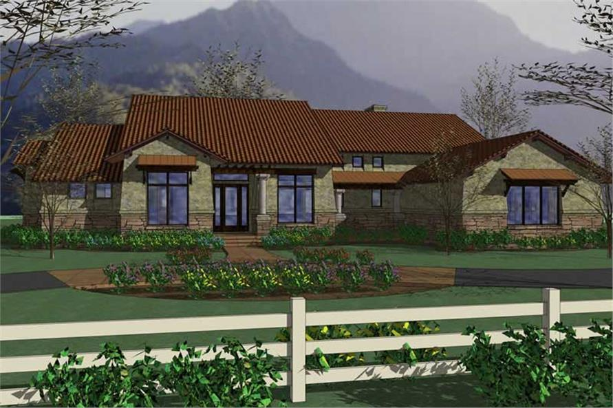 Main image for house plan # 20839