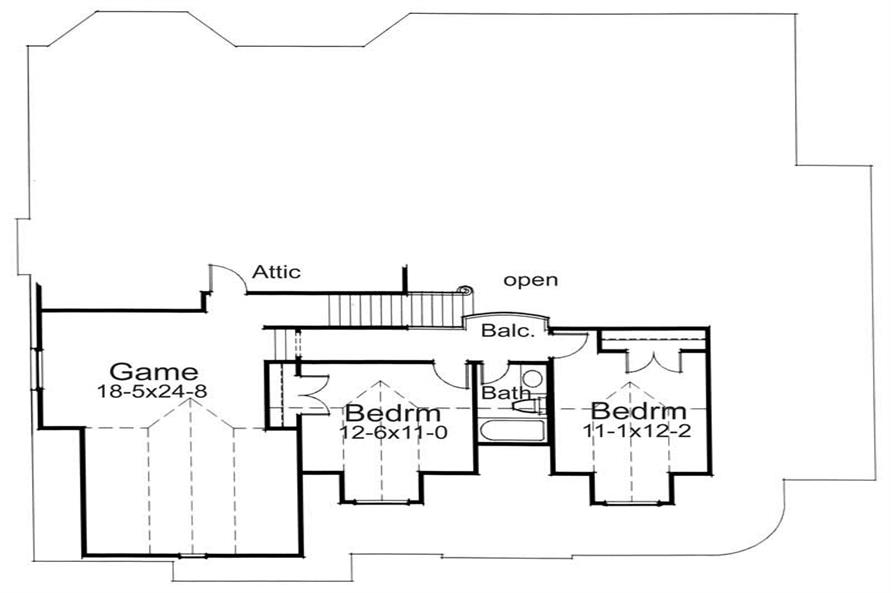 Optional Floor  DW1991Plan