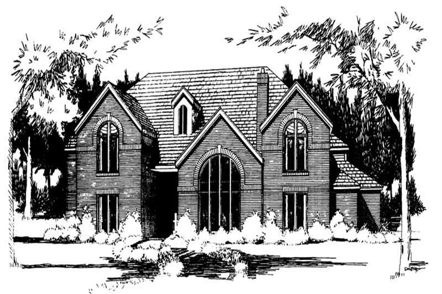 Main image for house plan # 20858