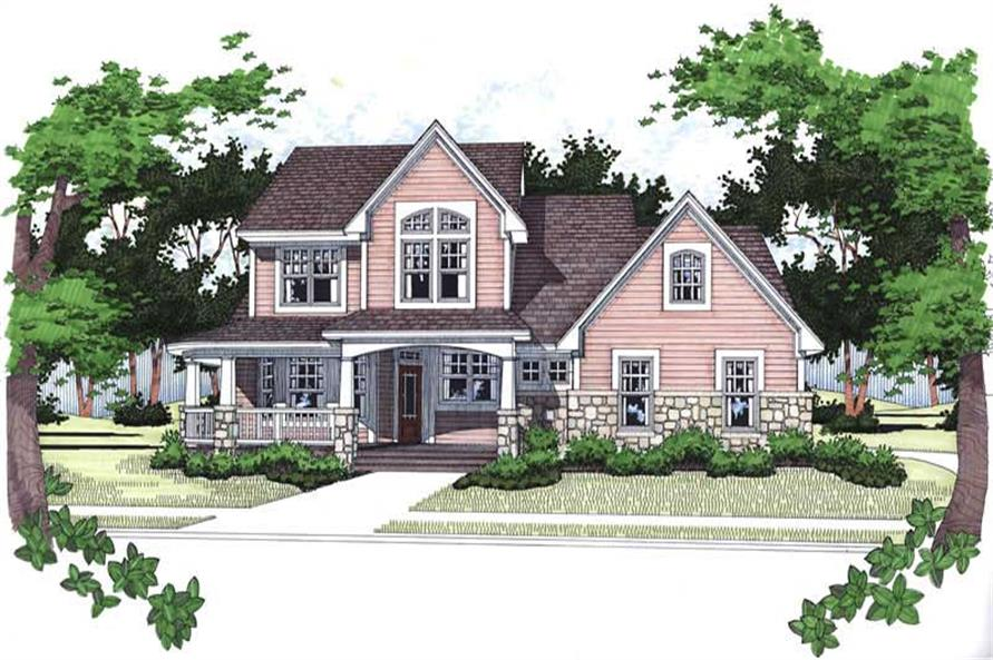 Main image for house plan # 20767