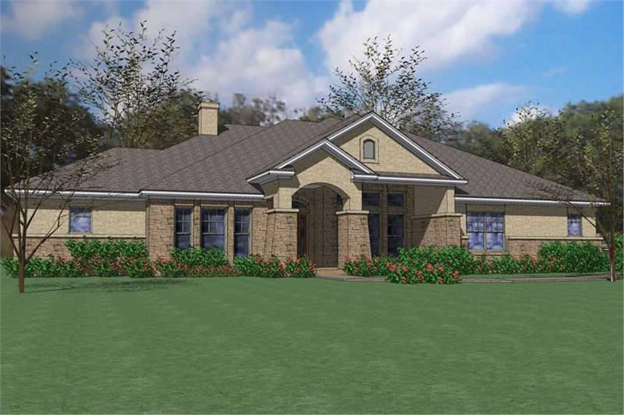 Main image for house plan # 20823