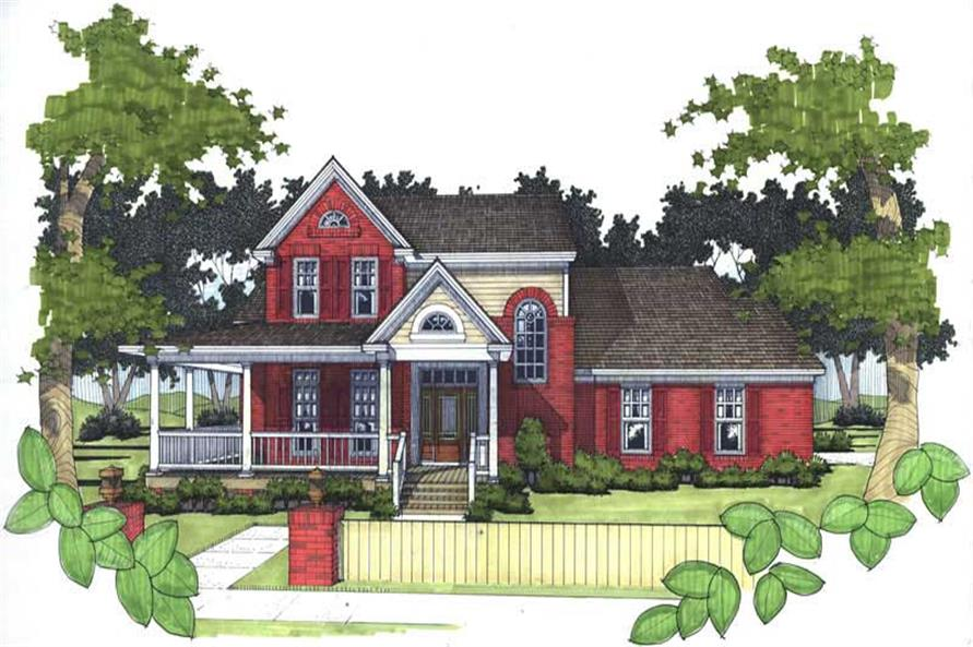 Main image for house plan # 20765
