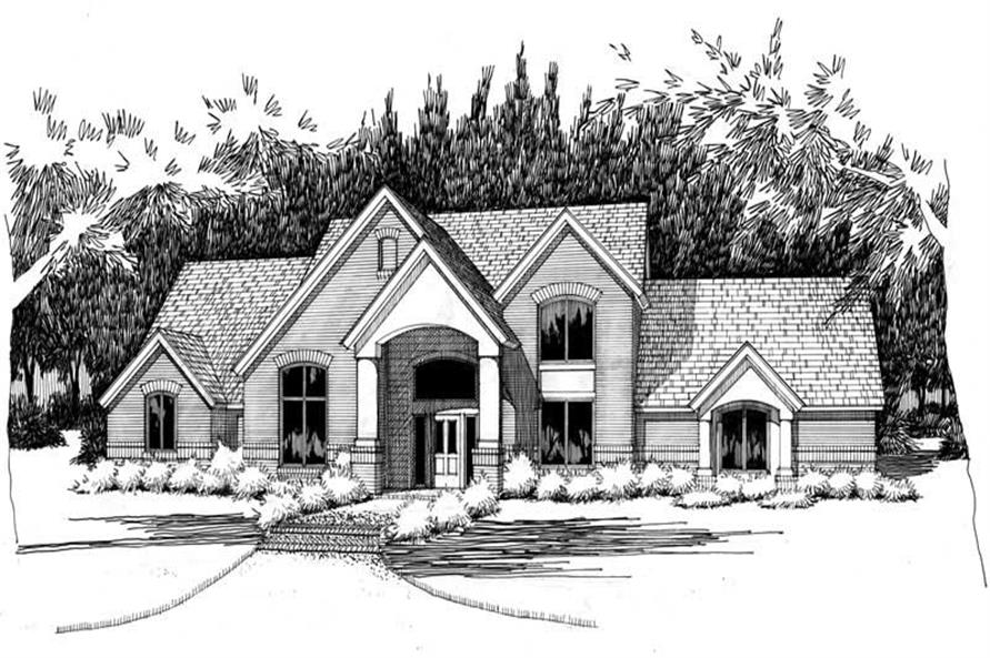 Main image for house plan # 20785