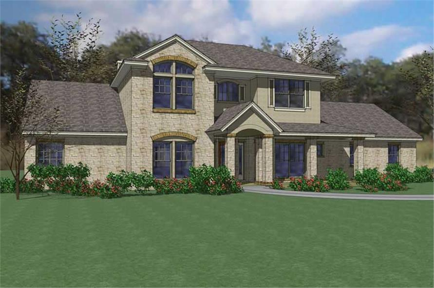Main image for house plan # 20816