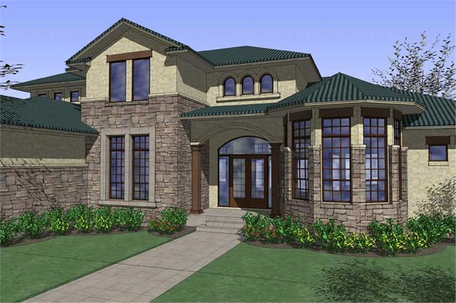 Main image for house plan # 20863