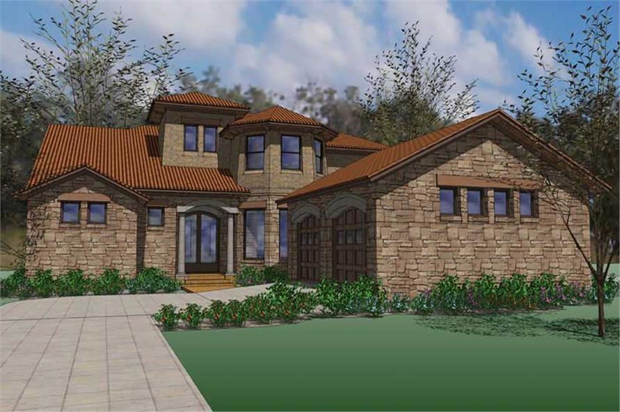 Main image for house plan # 20851