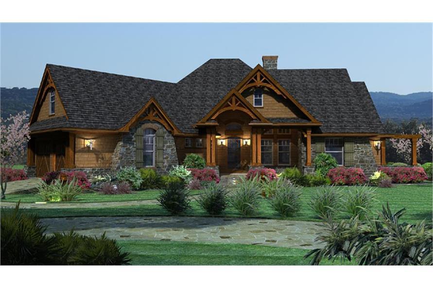 117-1092: Home Plan Rendering