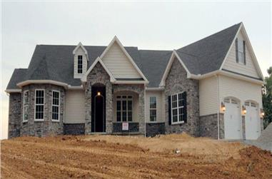 3-Bedroom, 2595 Sq Ft Cottage Home Plan - 117-1109 - Main Exterior
