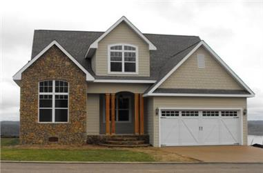 3-Bedroom, 2143 Sq Ft Cottage House Plan - 117-1111 - Front Exterior