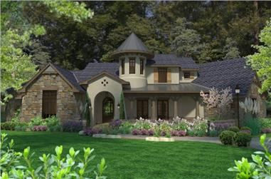 3-Bedroom, 3230 Sq Ft Cottage Home - Plan #117-1118 - Main Exterior