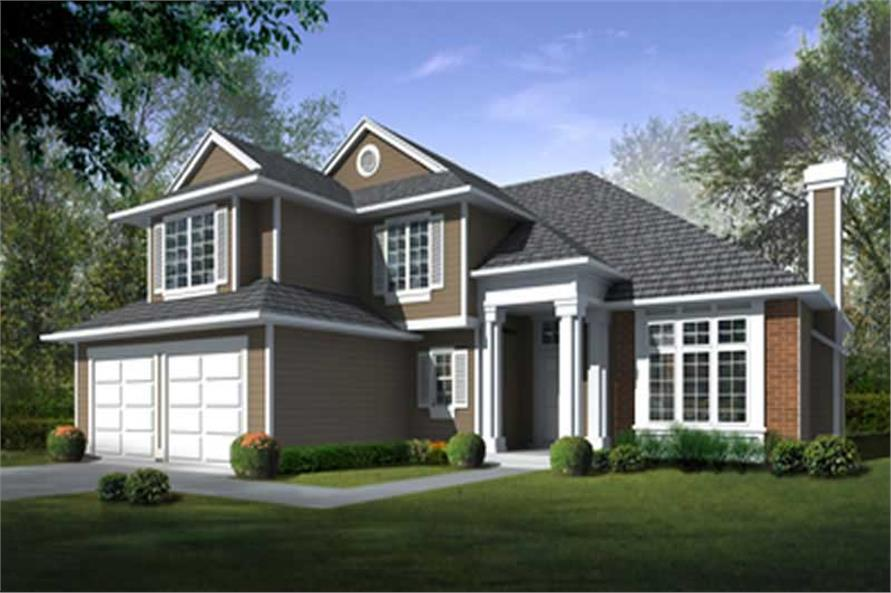 Main image for house plan # 17075