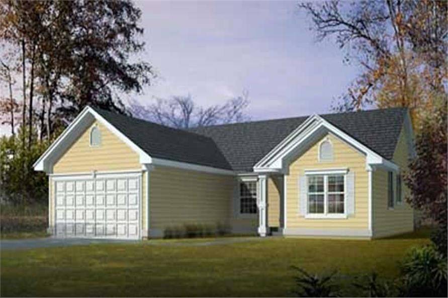 Main image for house plan # 16969