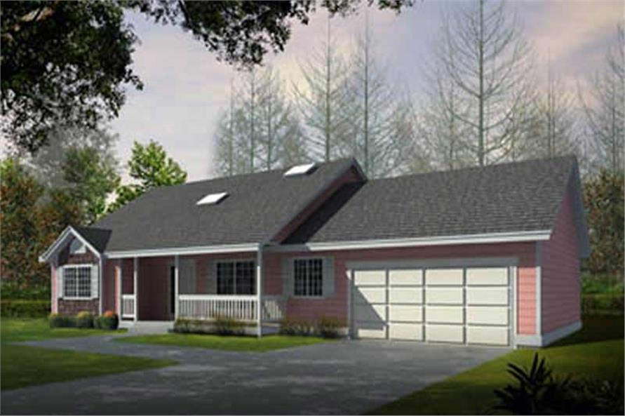Main image for house plan # 17121