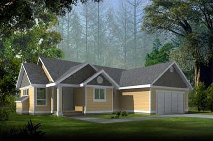 Main image for house plan # 17085