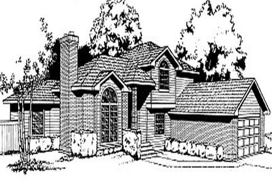 Main image for house plan # 2053