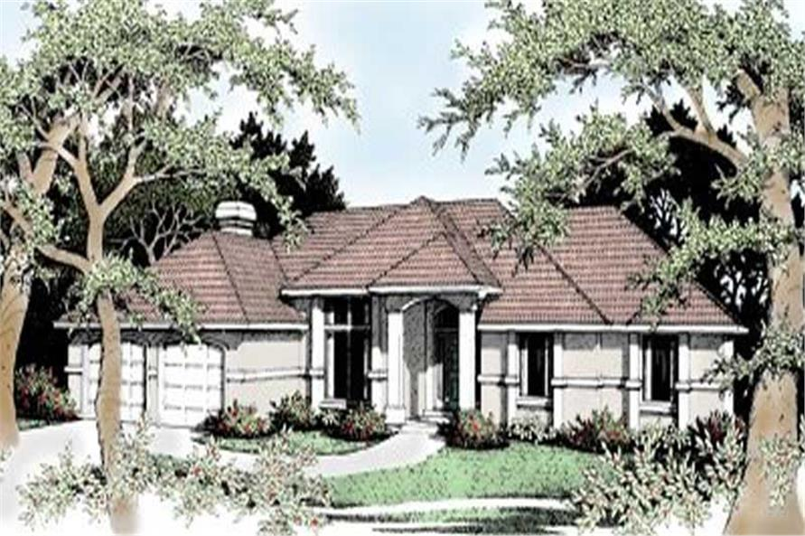 Main image for house plan # 2043