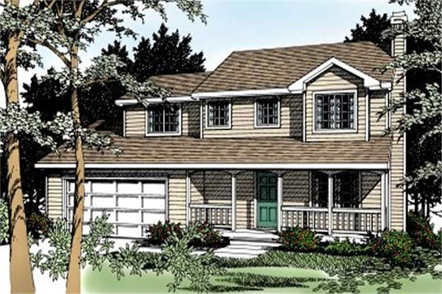 Main image for house plan # 2003