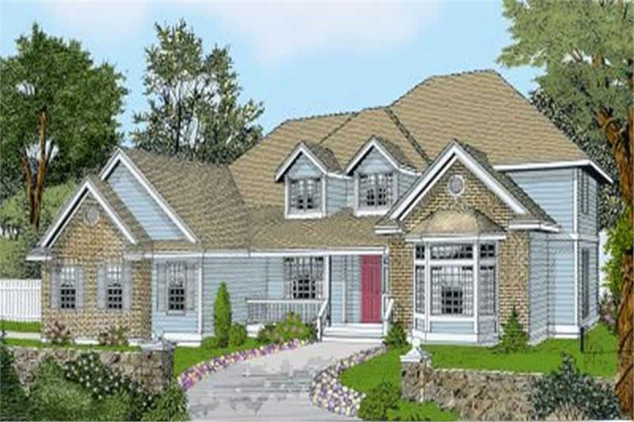 Main image for house plan # 2108