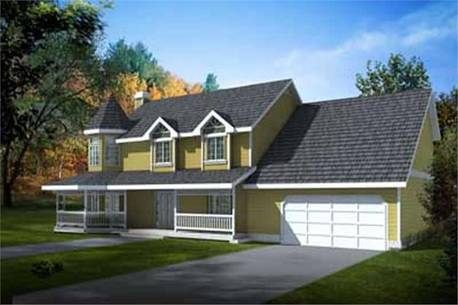 Main image for house plan # 2091