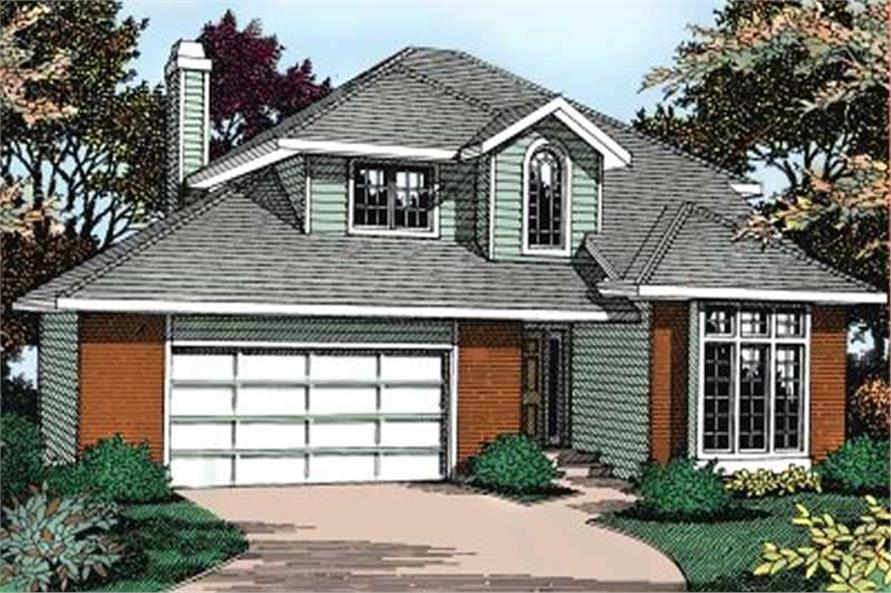 Main image for house plan # 2084