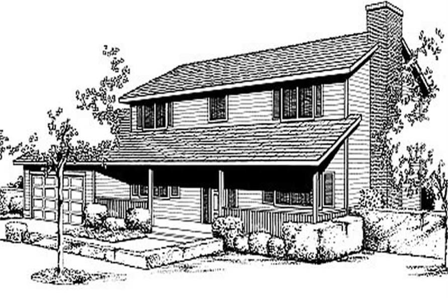 Main image for house plan # 2063