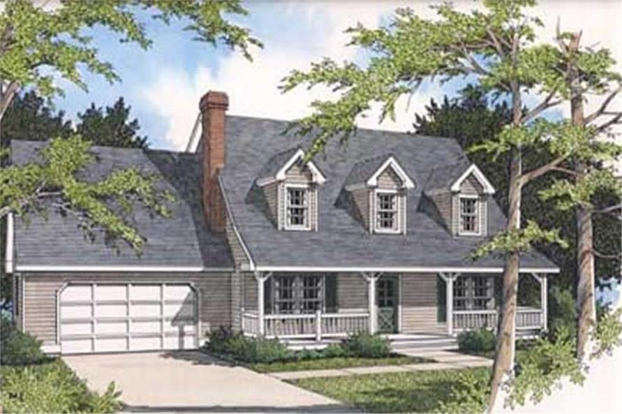 Main image for house plan # 2062
