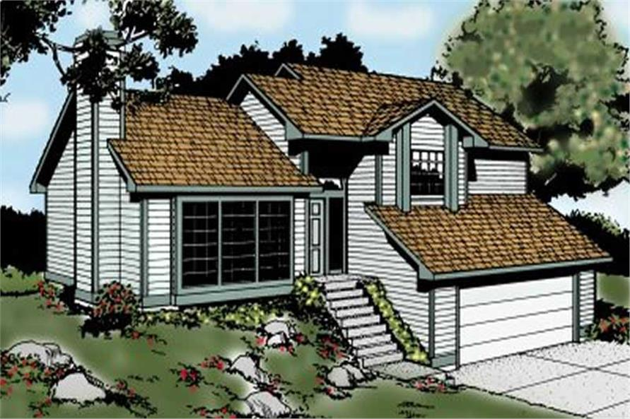 Main image for house plan # 1965