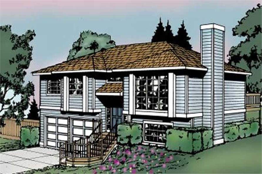 Main image for house plan # 1962