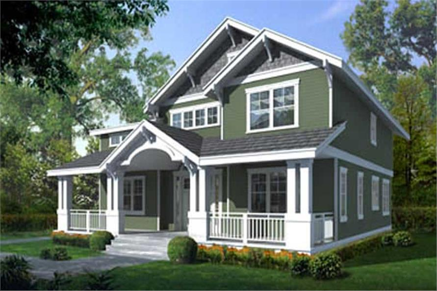 Main image for house plan # 16935