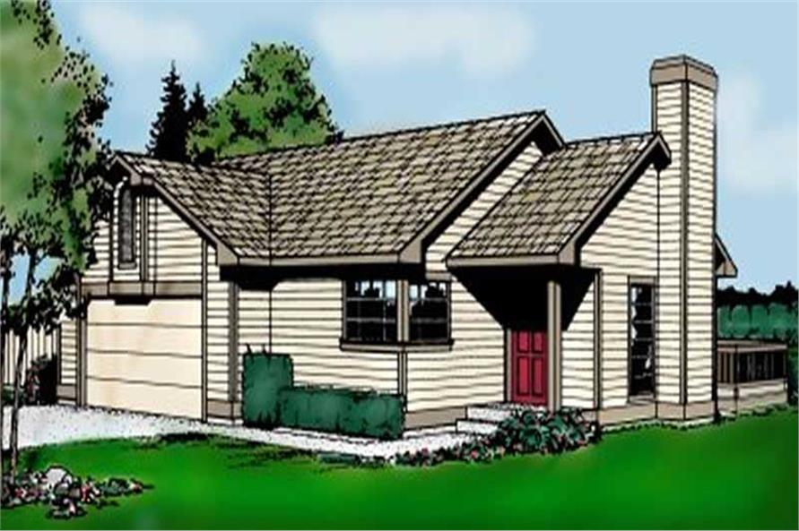 Main image for house plan # 1956