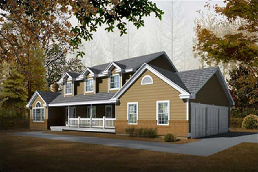 Main image for house plan # 2096