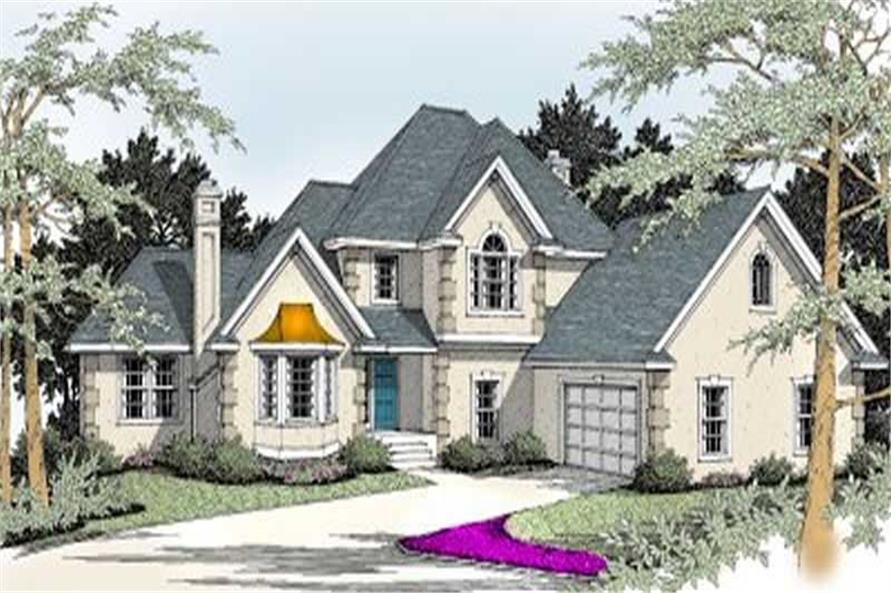 Main image for house plan # 2081