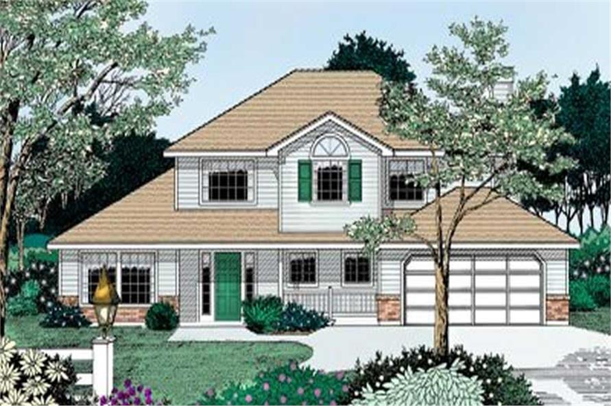 Main image for house plan # 2059