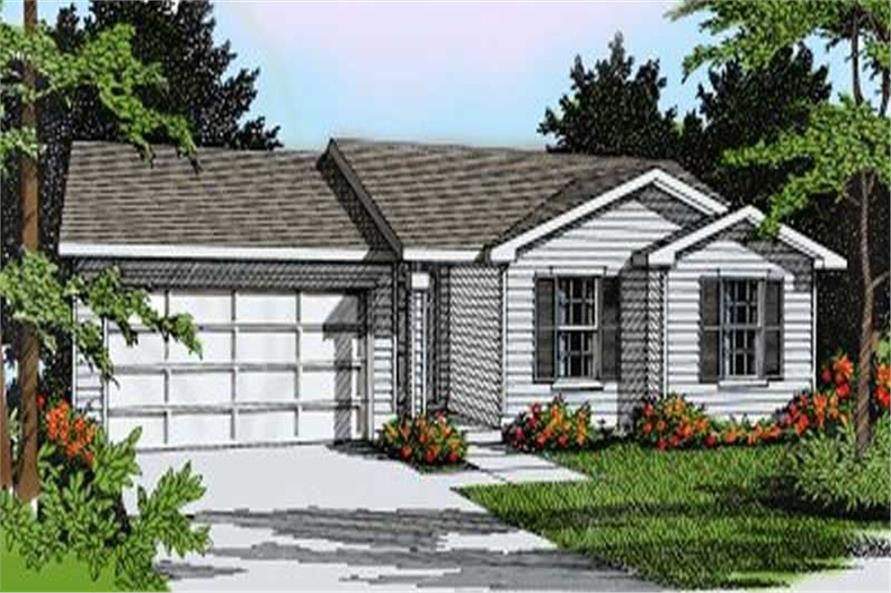 Main image for house plan # 1961