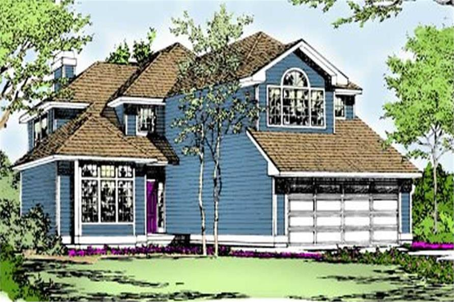 Main image for house plan # 2072