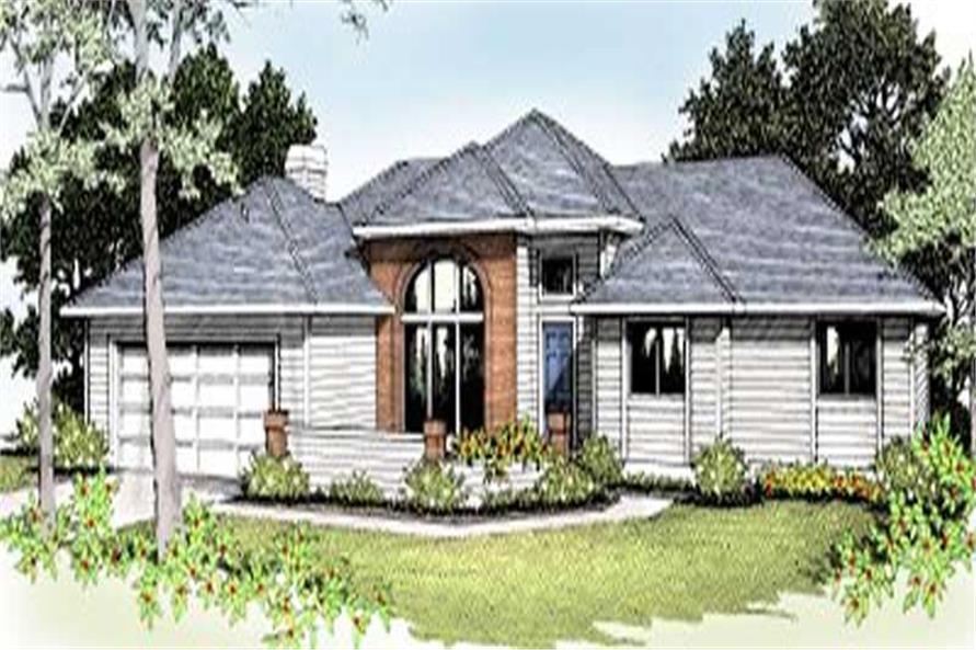 Main image for house plan # 1996