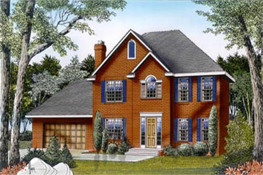 Main image for house plan # 2051
