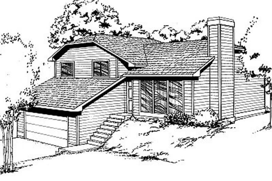 Main image for house plan # 1958