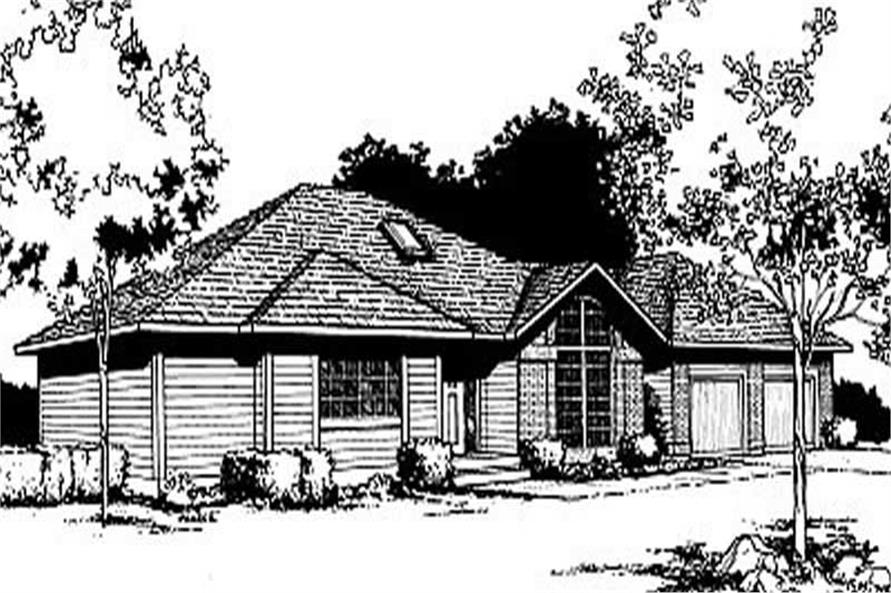 Main image for house plan # 1998