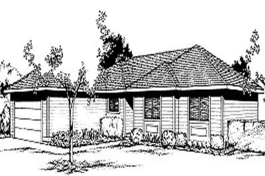 Main image for house plan # 1985