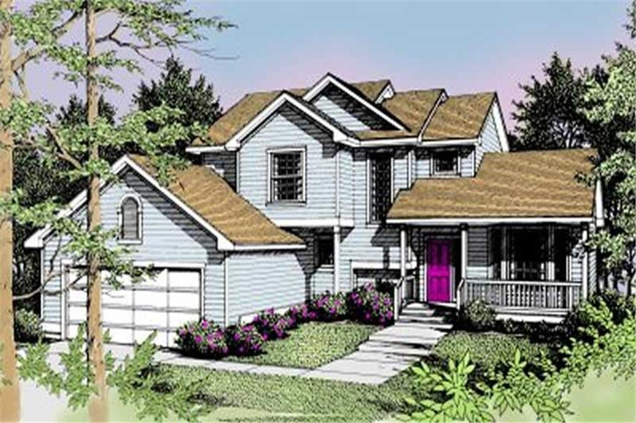 Main image for house plan # 2004