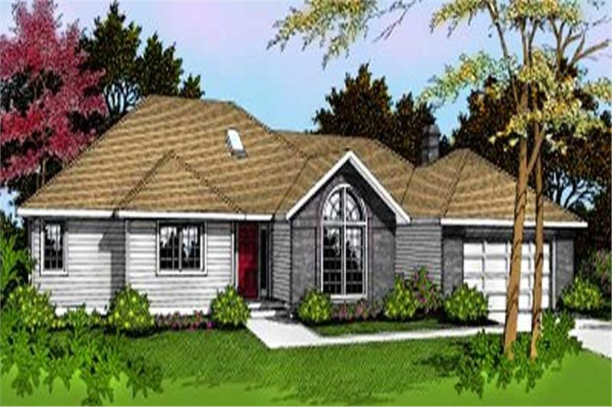 Main image for house plan # 2057