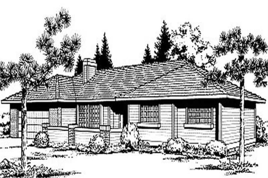 Main image for house plan # 1976
