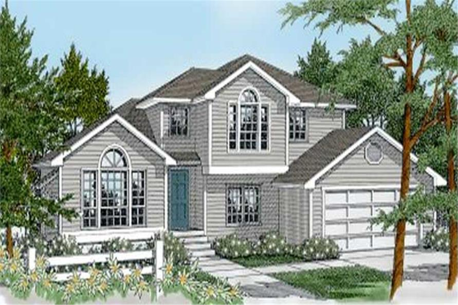 Main image for house plan # 2036