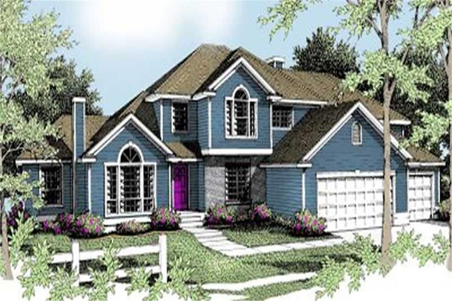 Main image for house plan # 2103