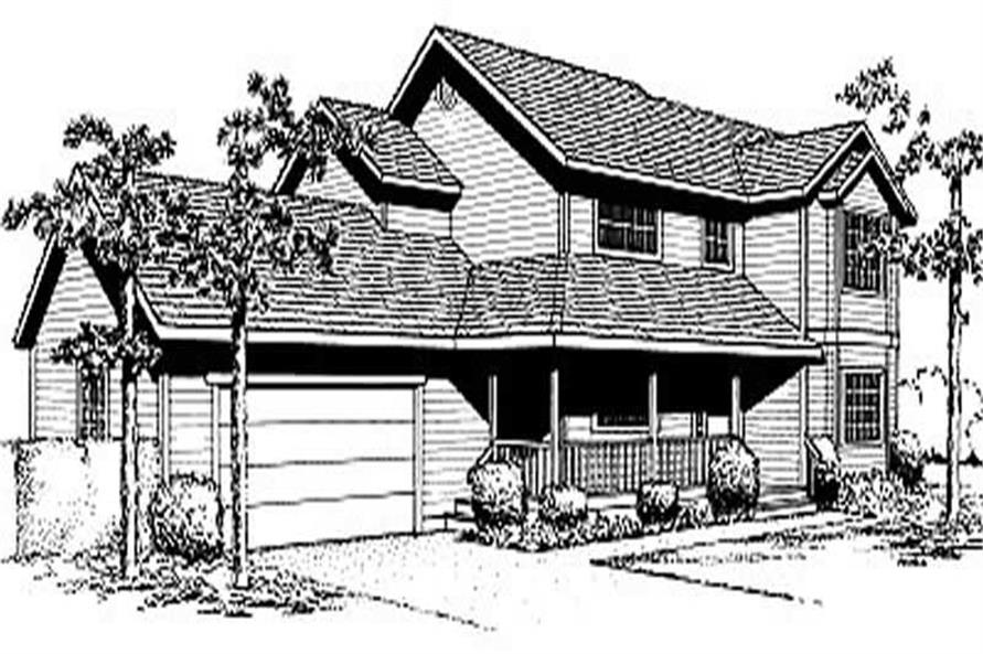 Main image for house plan # 2037