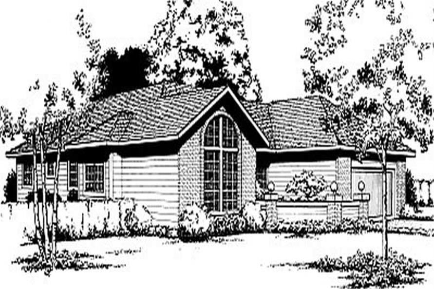 Main image for house plan # 2026