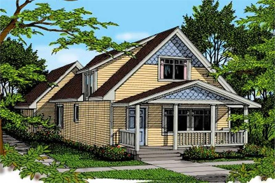 Main image for house plan # 1969