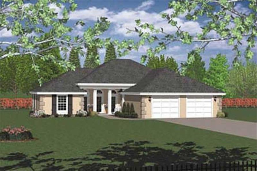 Main image for house plan # 2029